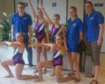 Goede resultaten synchroonzwemsters